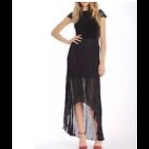 Alice +Olivia Asymmetric Pleaded Skirt